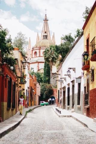 Chloé a vécu à Mexico