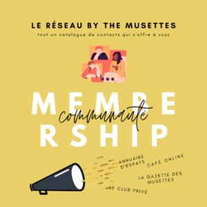 The Musettes - Membership Communauté